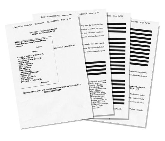 Example inspection agreement documents