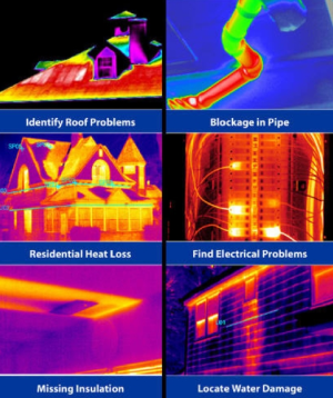 An Example of Issues Found Using Infrared Thermal Imaging from Memphis Tennessee Thermal Inspections.